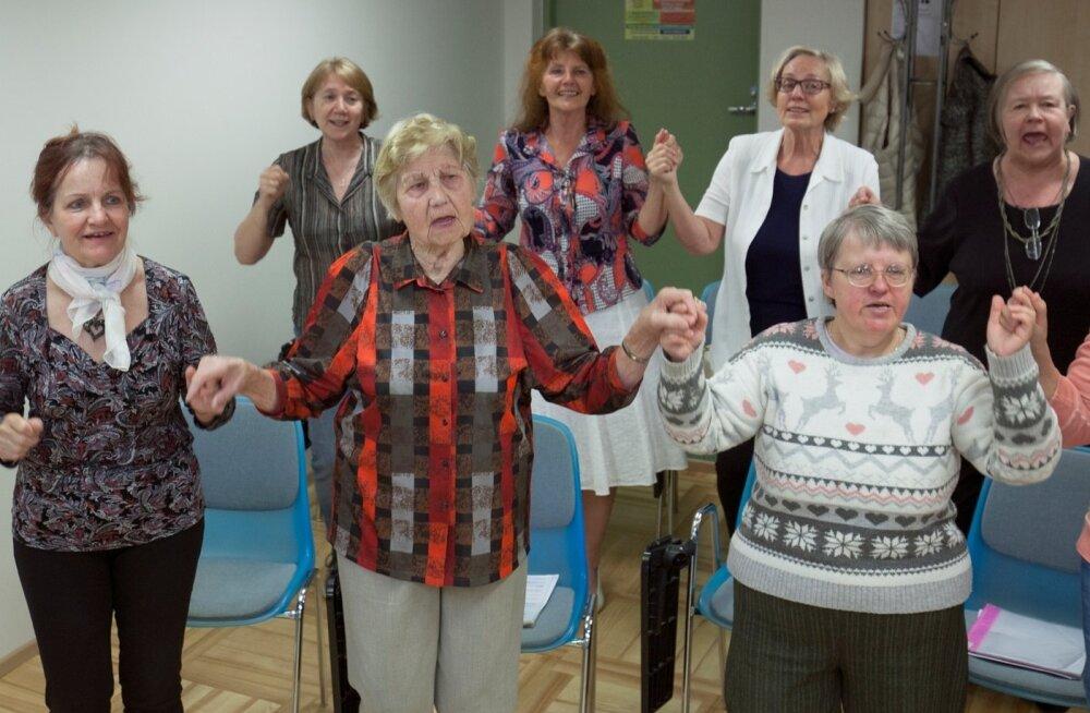 Laulupeo vanim osaleja: kartsin, et nüüd öeldakse, et oled liiga vana!