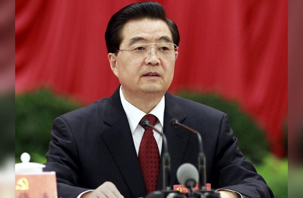 Hiina president sõidab Euroopasse