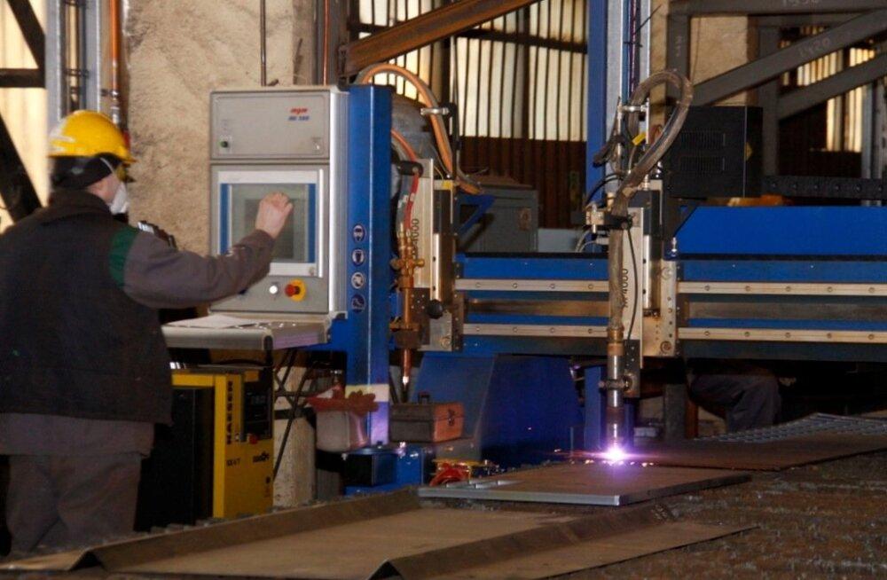 Работающее в Йыхви предприятие Enefit Solutions изготавливает массивные электрофильтры на экспорт