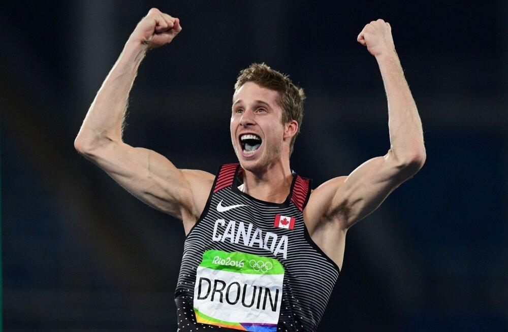 Kõrgushüppe Rio olümpiavõitja Derek Drouin