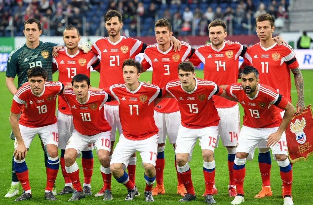 Venemaa jalgpalliliit hoiatab oma mängijaid MM-i eel eksootilise tee ja vesipiibu eest
