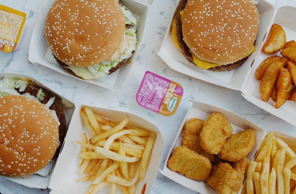 Eesti mees nõuab McDonaldsilt miljonit, sest nagitsas peitunud üllatus laastas tervist