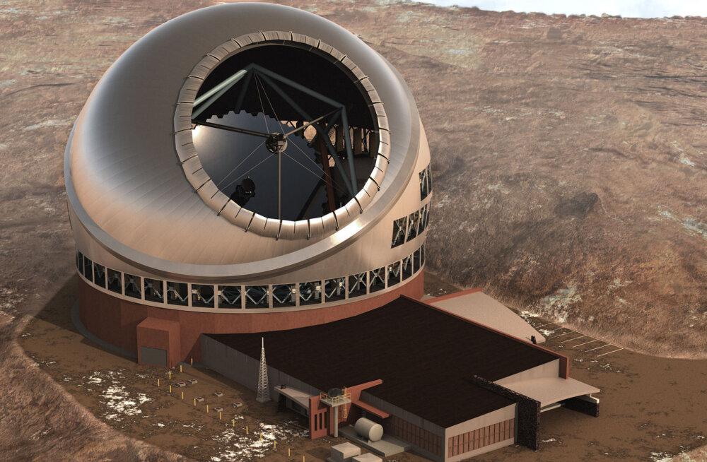 """30-meetrise """"silmaga"""" teleskoop tuleb vist siiski Hawaii asemel Kanaaridele ehitada"""