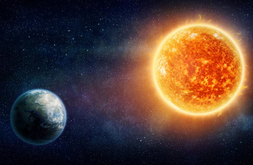 Päike on teiste omasuguste tähtedega võrreldes rahulik