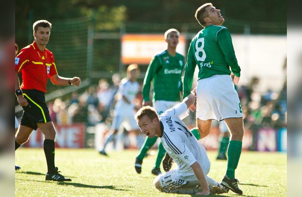Konstantin Nahk, Kristen Viikmäe, jalgpall
