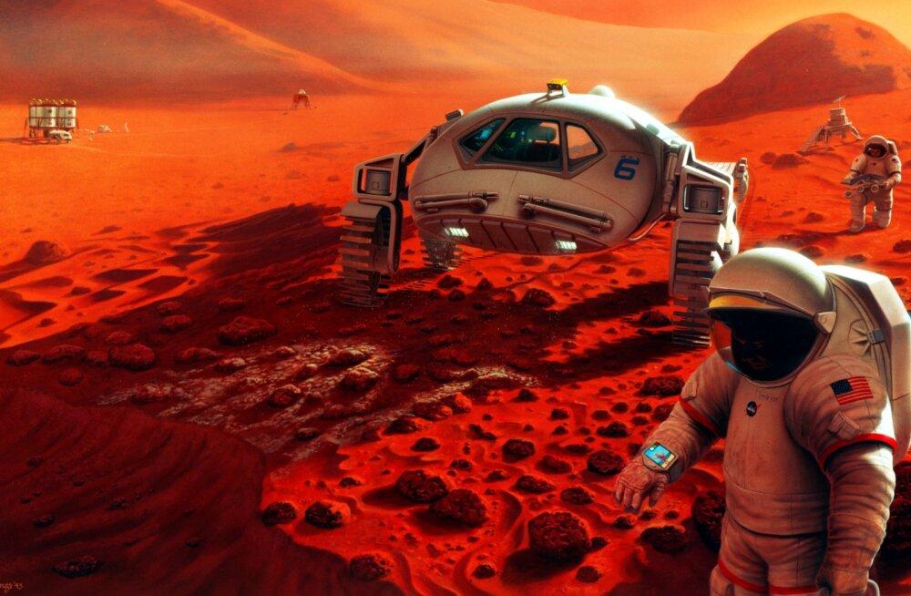 Raha pole: NASA teatas, et nad ei suuda ikkagi inimest Marsile toimetada
