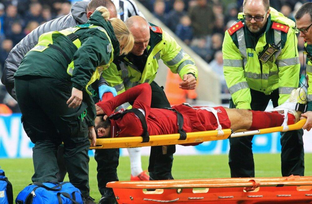 Liverpool suutis hilise väravaga võidu päästa, ent võib Meistrite liiga kordusmänguks jääda ilma nii Firminost kui Salahist