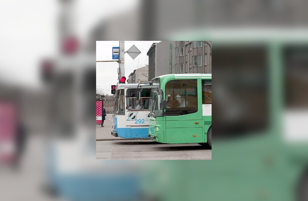 Ühistransport, buss, troll