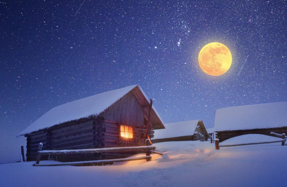 Haruldane kokkusattumus: talvine pööripäev langeb kokku Vähi märgi täiskuuga