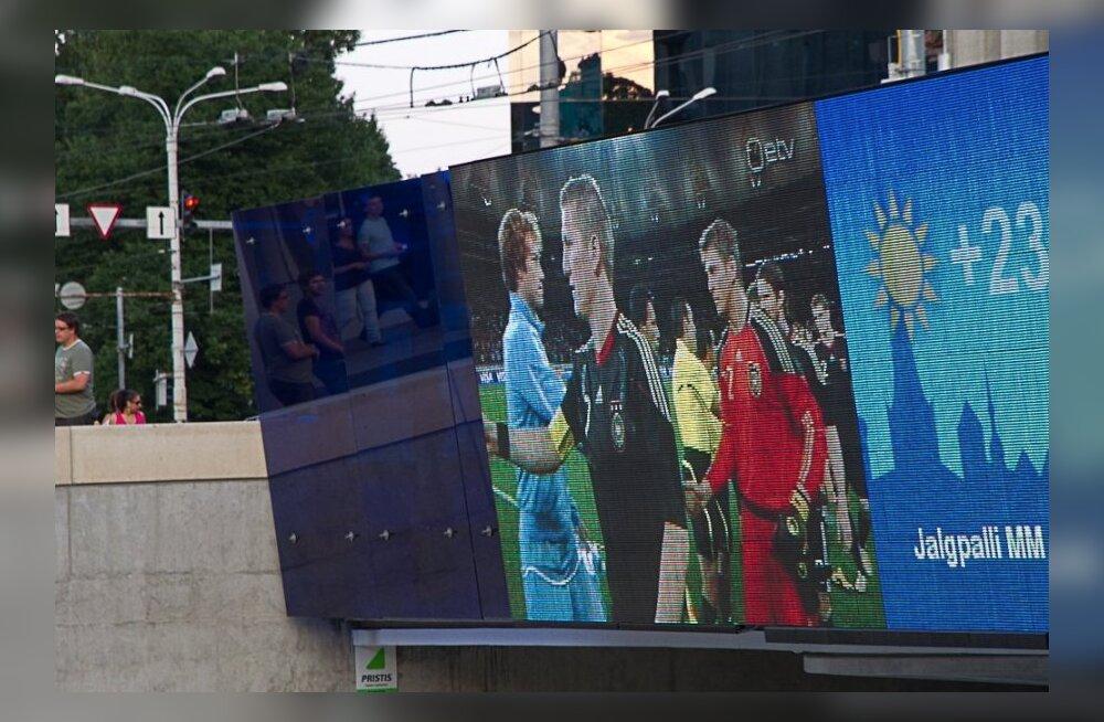 Tallinn: näitame jalgpalli suurelt ekraanilt, kui EJL tagab avaliku üritusega kaasnevad nõudmised