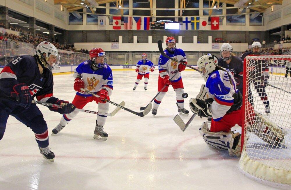 Venemaa ja USA jäähokilahing