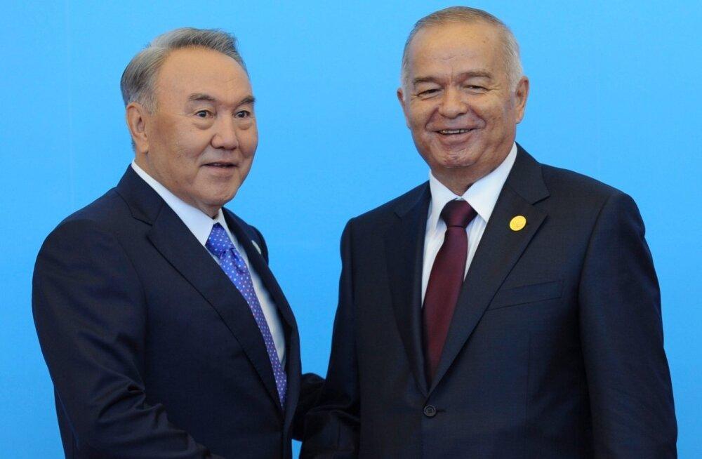 Karimov, Nazarbajev