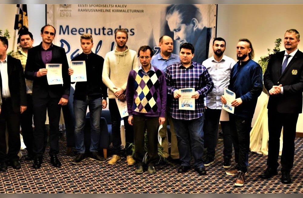 """29. kiirmaleturniiri """"Meenutades Paul Kerest"""" kolmikvõit läks Ukrainasse"""