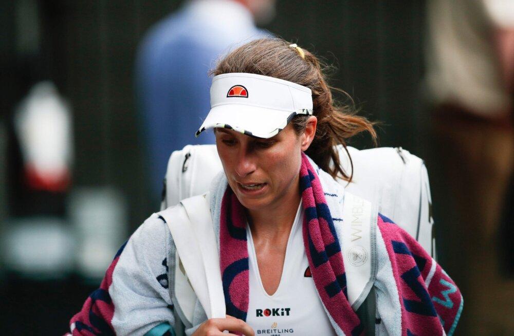 """VIDEO   Wimbledonil kaotanud Briti esinumber astus ajakirjanikuga sõnasõtta: """"See on teist lugupidamatu!"""""""