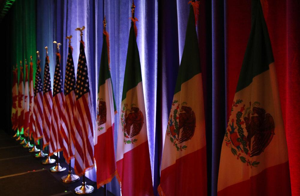 NAFTA kõnelused jätkuvad rahumeelselt, Mehhiko valimistub siiski USA ootamatuks väljaastumiseks