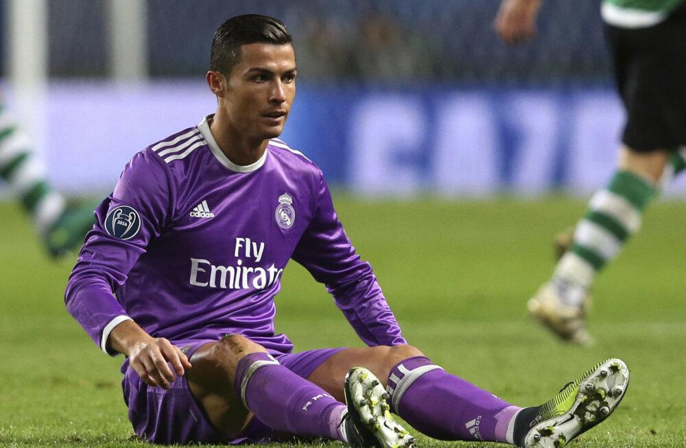 Ronaldo püstitas Meistrite liigas negatiivse rekordi
