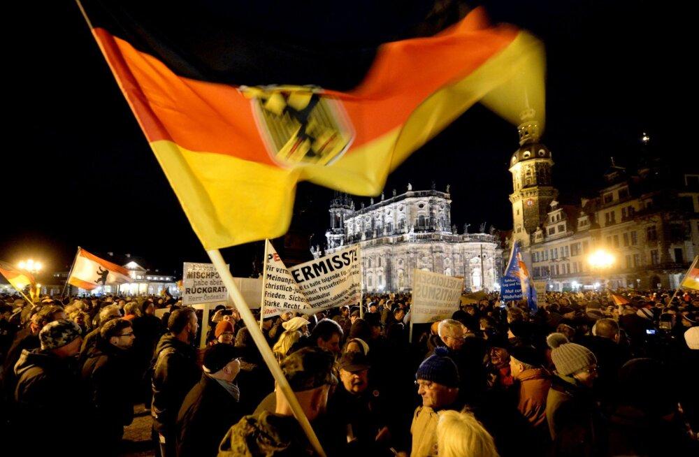 Dresdeni linn kuulutas natside tõttu välja hädaolukorra