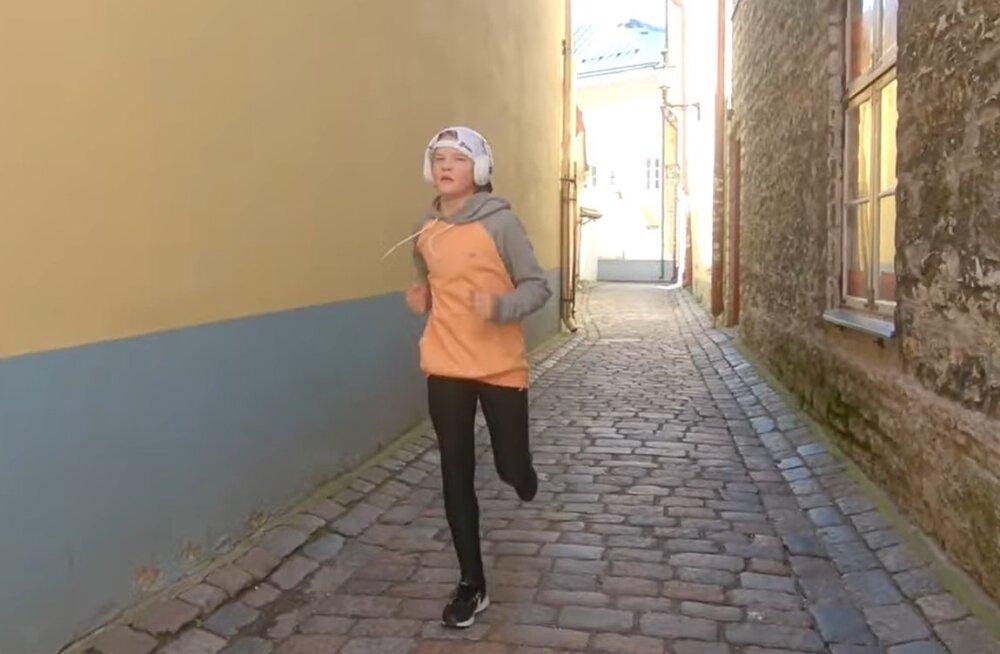 VIDEO | Henry Sildaru läbis Tallinna tänavatel viimaste aegade raskeima katsumuse