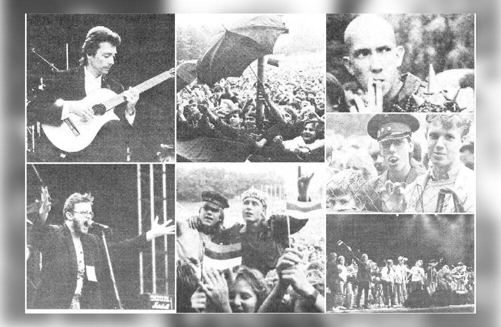 АРХИВНЫЕ КАДРЫ: Это свобода! Rock'n'roll и мировые звезды на Певческом поле