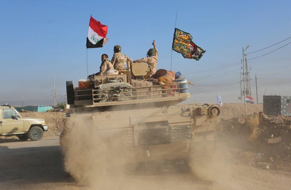 Iraak alustas operatsiooni viimaste Islamiriigi võitlejate läänekõrbest väljaajamiseks