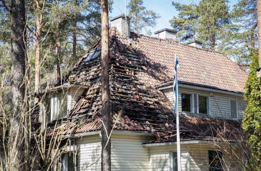 Põlenud Margus Tsahkna maja