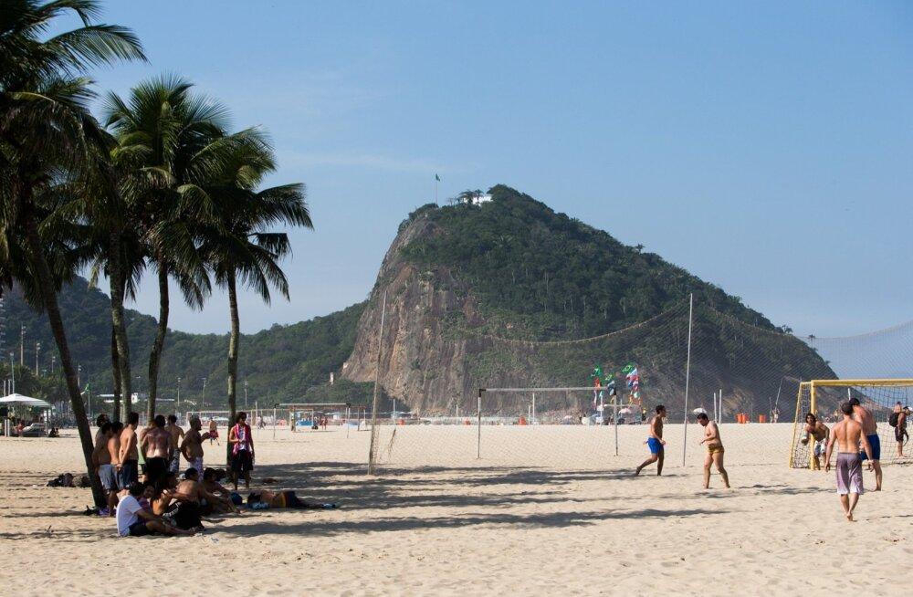 Olümpialinn Rio de Janeiro on tuntud kaunite randade poolest.