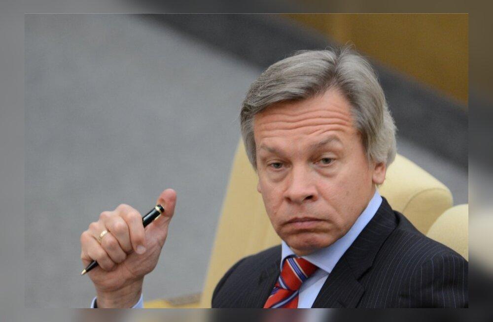 Riigiduuma väliskomitee esimees: Venemaa on külma sõda meenutavas olukorras USA-ga, Euroopaga veel mitte