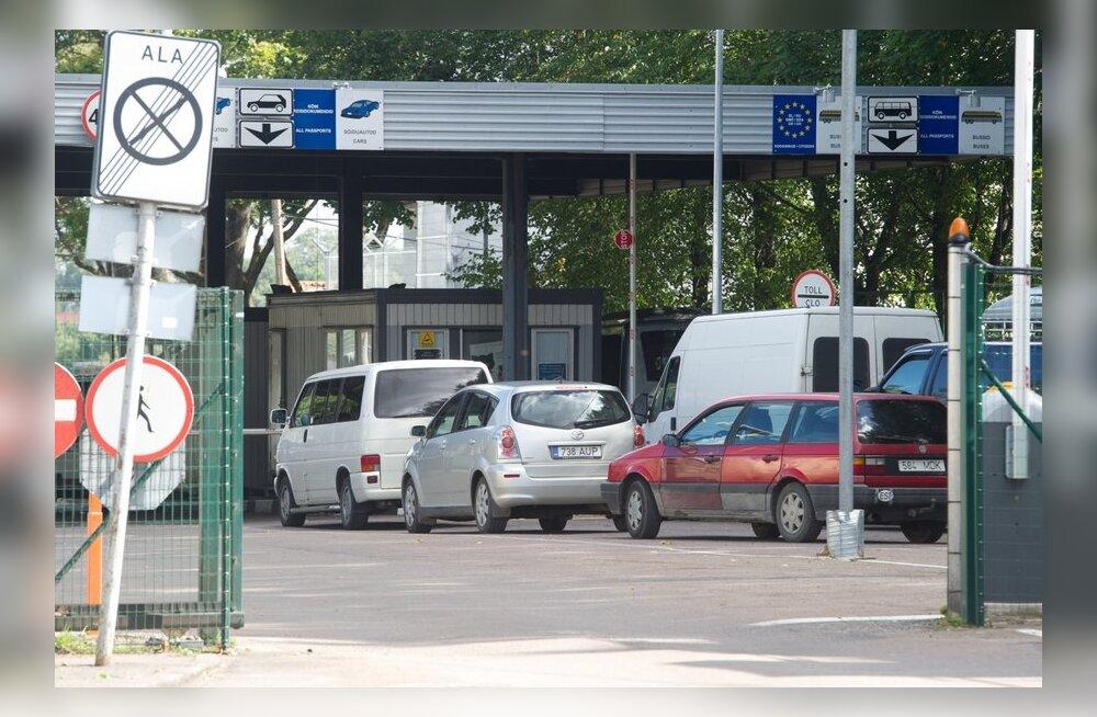 Очереди на эстонско-российской границе резко возрастут и продлятся до конца 2014 года