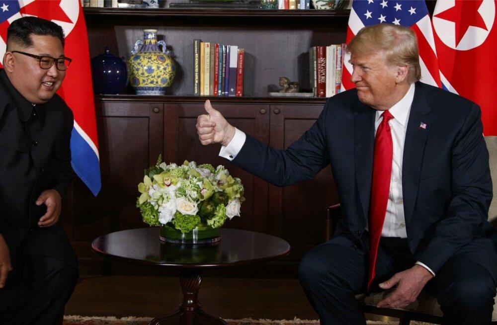USA riigipea Donald Trump teatas pärast kohtumist, et usaldab Põhja-Korea diktaatorit Kim Jong-uni ja on valmis teda suurima heameelega Valges Majas võõrustama.
