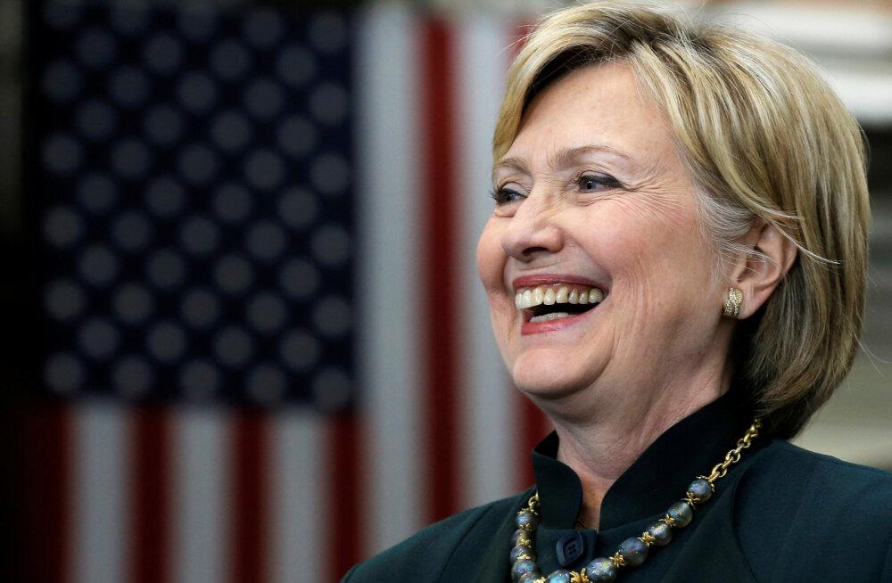 Клинтон увеличила отрыв от Трампа до 10 процентов