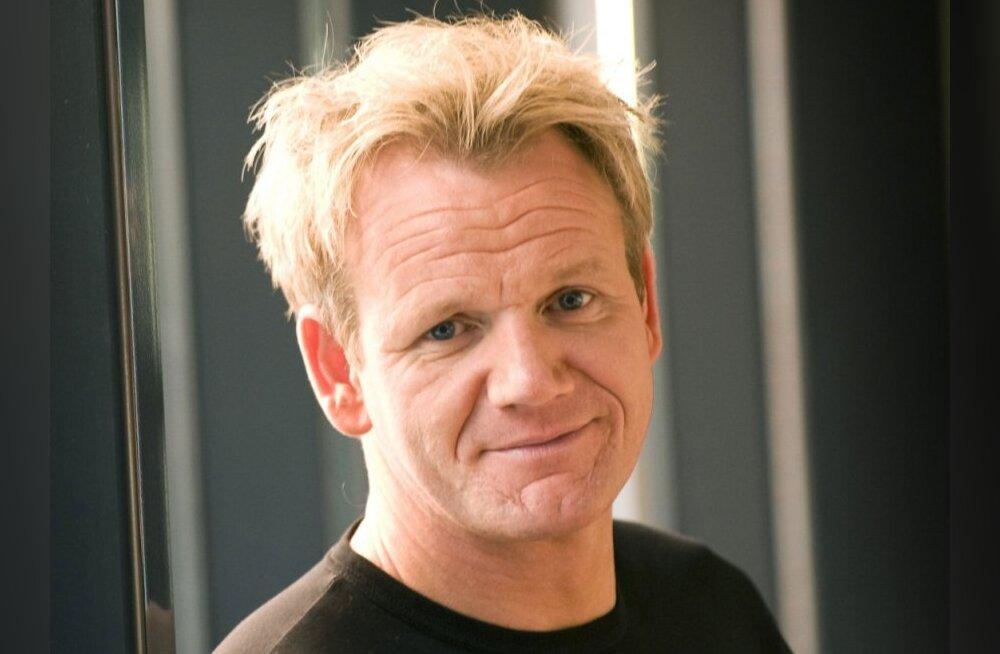 Telekokk Gordon Ramsay lasi juukseid siirdada