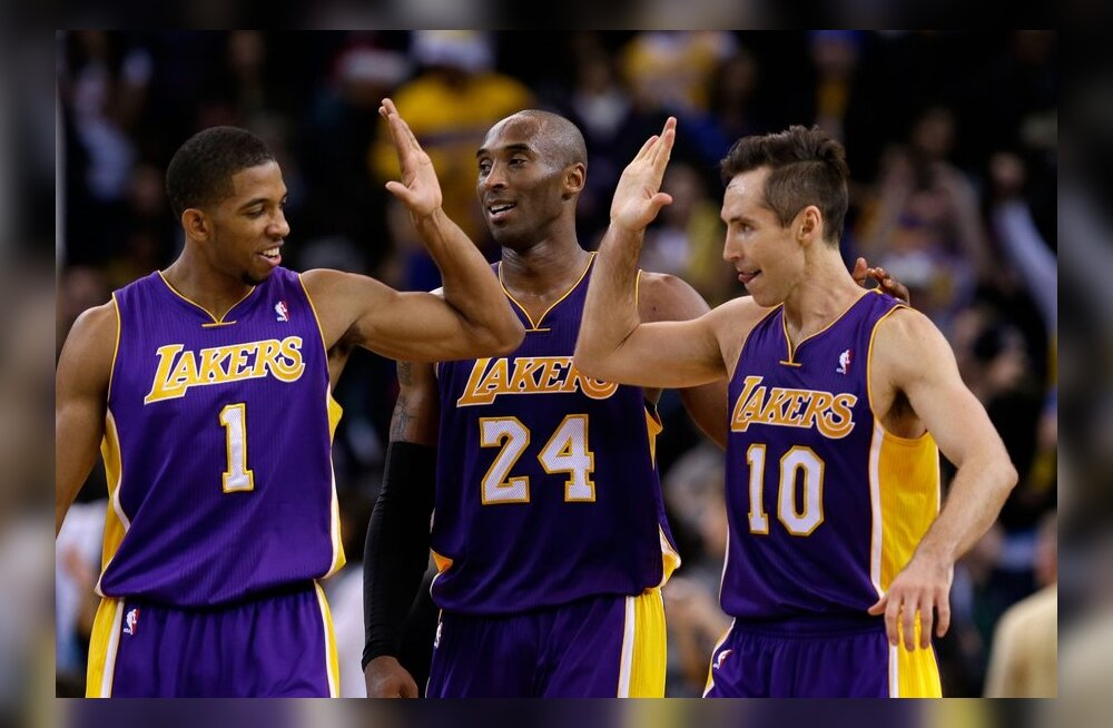 Darius Morris, Kobe Bryant, Steve Nash