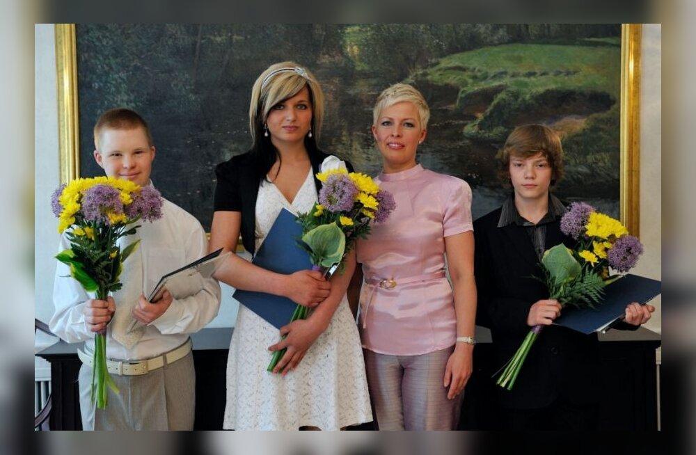 Noored sportlased & Evelin Ilves