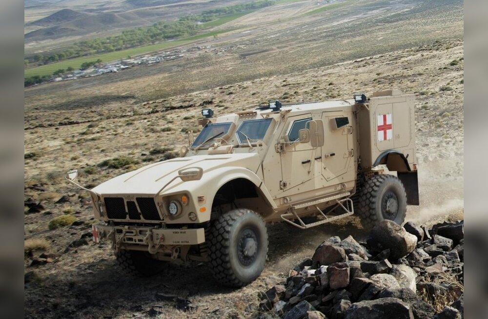 Militaar-ambulants M-ATV baasil