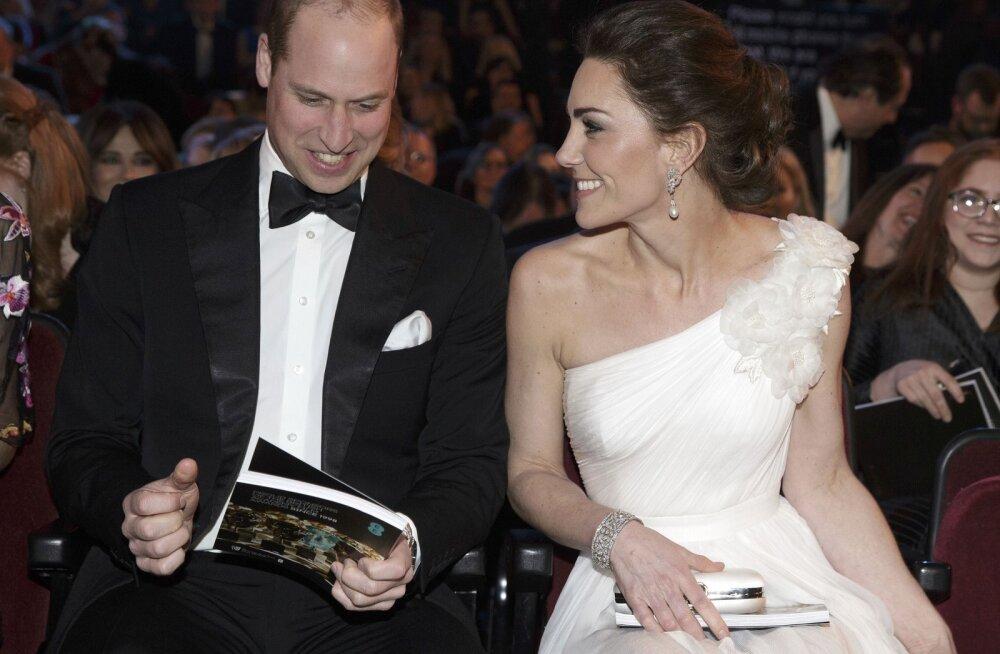Skandaal BAFTAde jagamisel: õhtu üks tähtsamaid võitjaid pidi kannatama Williami ja Kate'i tõttu