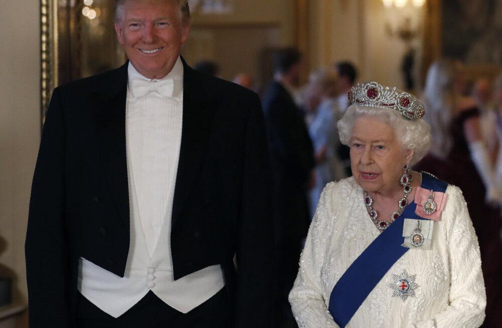 KLÕPS | Britid ei hoia vastumeelsust tagasi! Teismeline saatis Trumpile julge tervituse