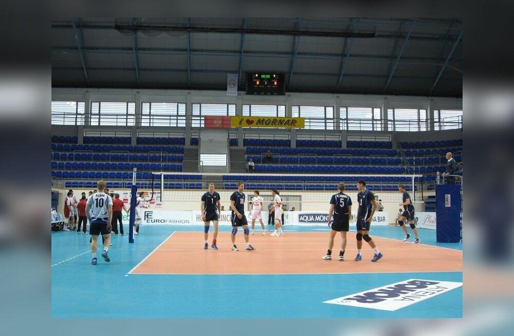 Eesti-Montenegro võrkpall