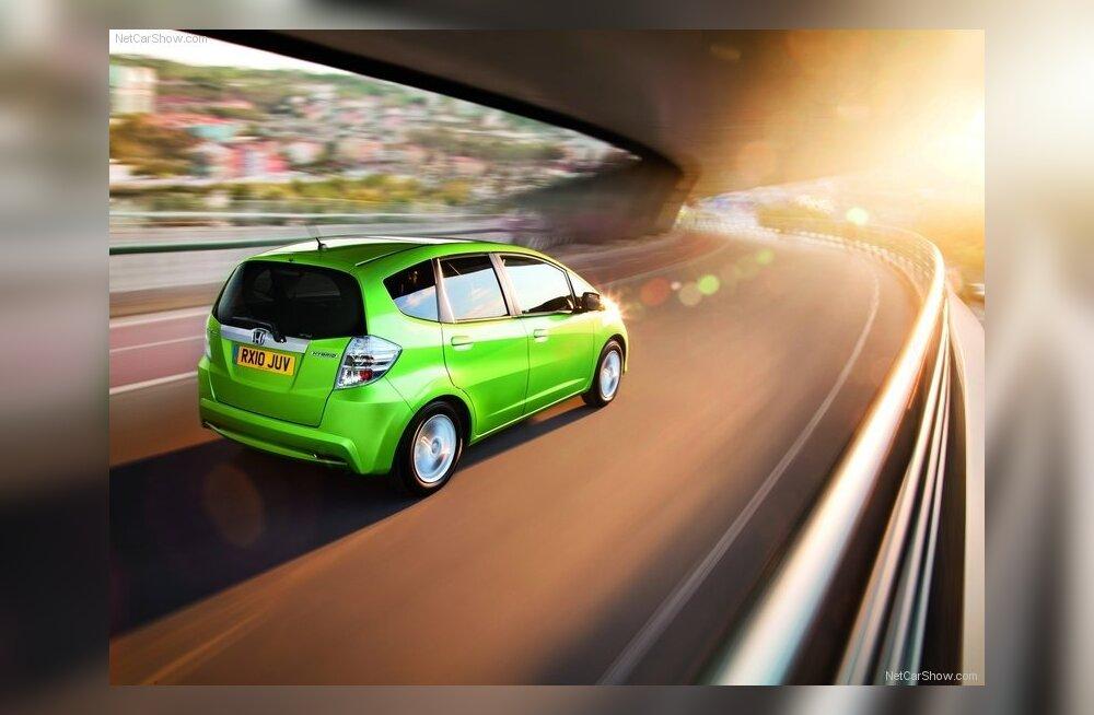 Honda Jazz Hybrid: зеленее некуда