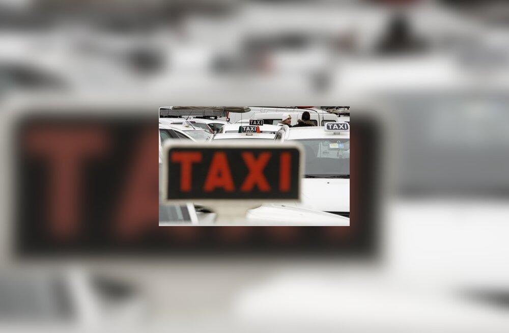 transport, ummik, takso, auto, liiklus