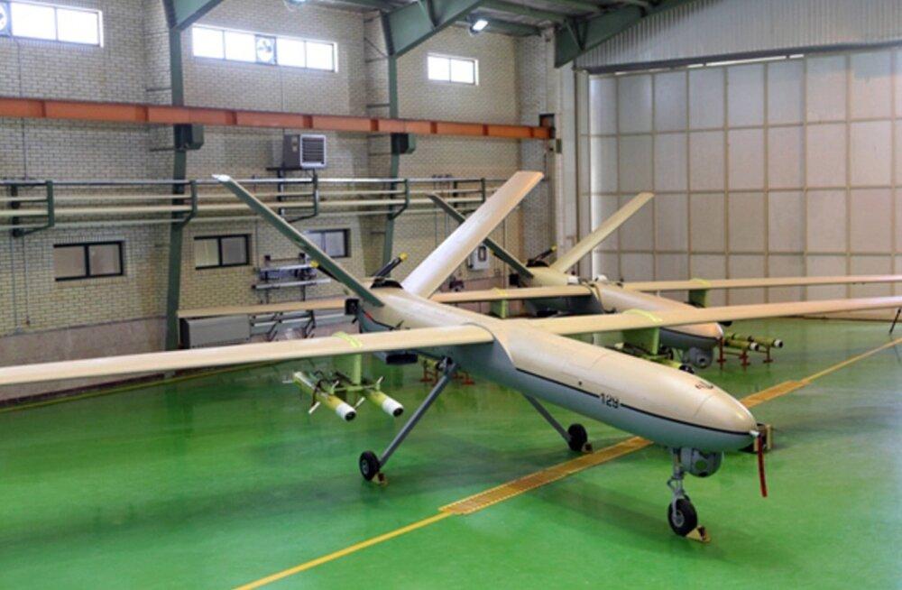 USA hävitaja tulistas Süüria kohal alla Iraanis toodetud drooni