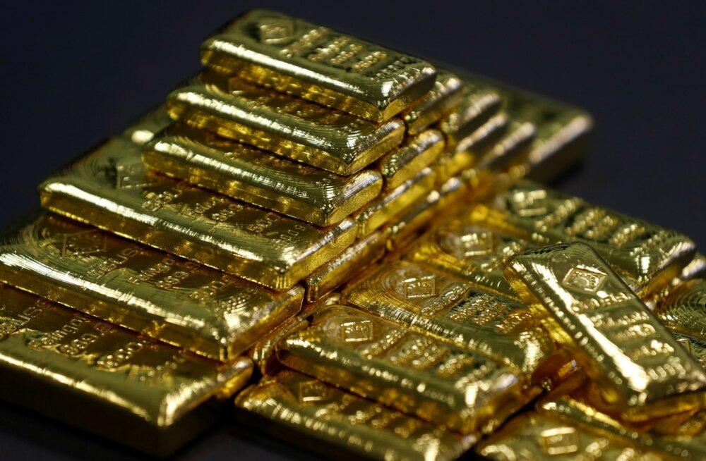 Kulla hind on kolme kuu tipus