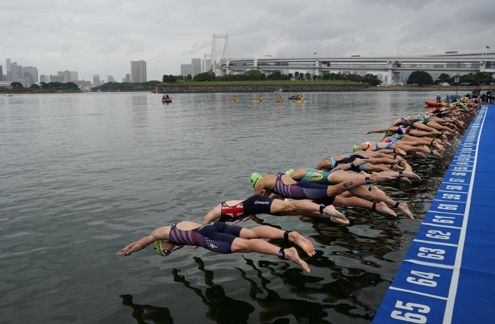 Triatleedid peavad Tokyo olümpial erakordselt vara ärkama