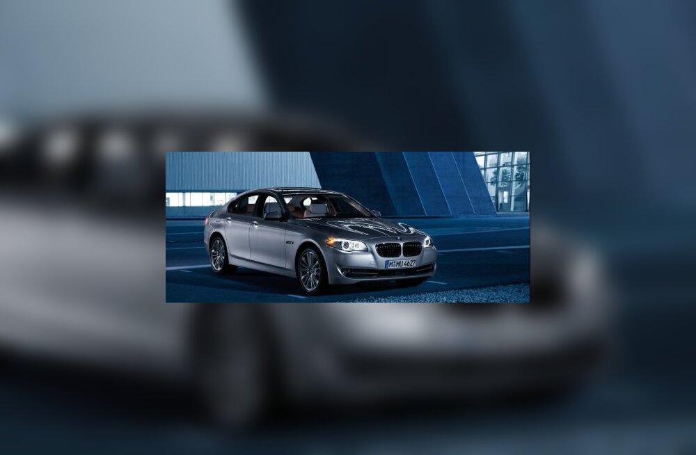 BMW 5. seeria on suur kolmene või väike seitsmene?