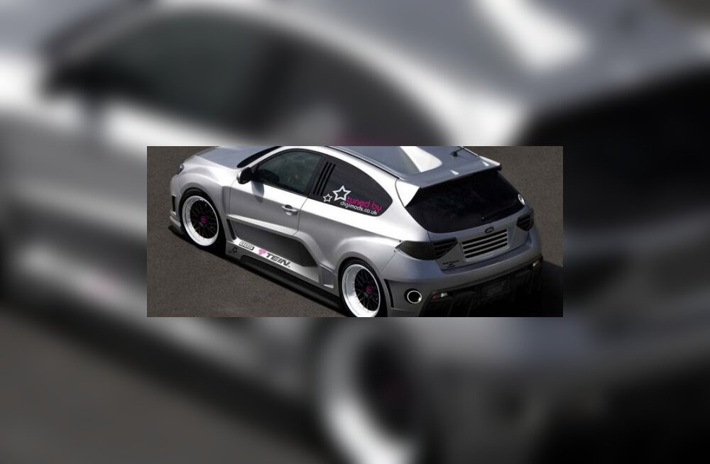 Tagamootoriga Subaru Impreza