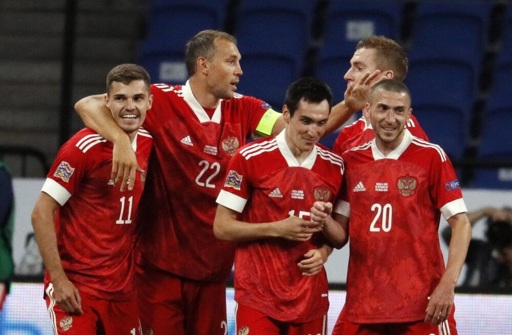 Назван состав сборной России на октябрьские матчи Лиги наций