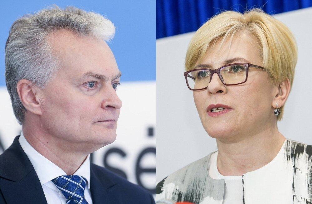 Leedu riigipeavalimistel saatis edu tsentristlikke kandidaate