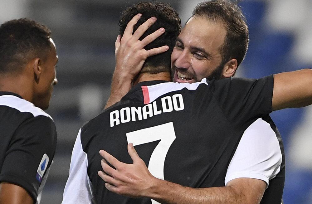 Taas võiduta jäänud Juventus mängis maha kaheväravalise eduseisu, kuid astus sammu tiitlile lähemale