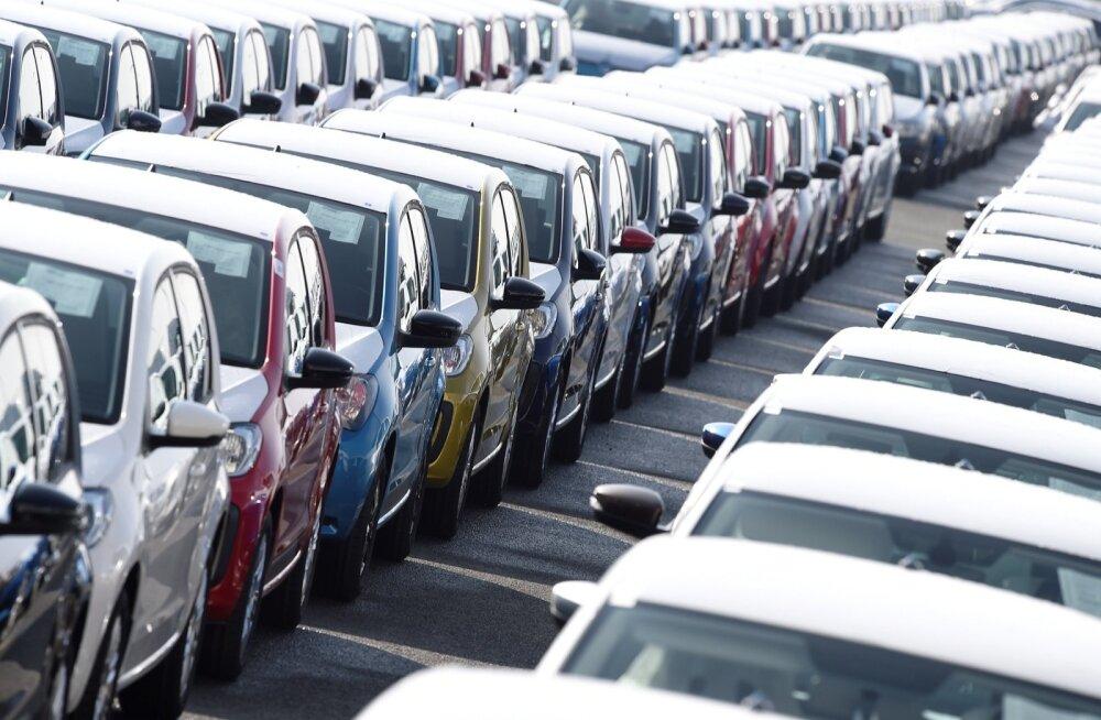 Volkswageni autod Emdeni sadamas