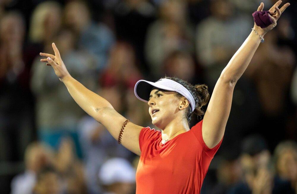 VIDEO | 18-aastane Kanada tenniseneiu on Aucklandis võtnud juba kaks vägevat skalpi järjest