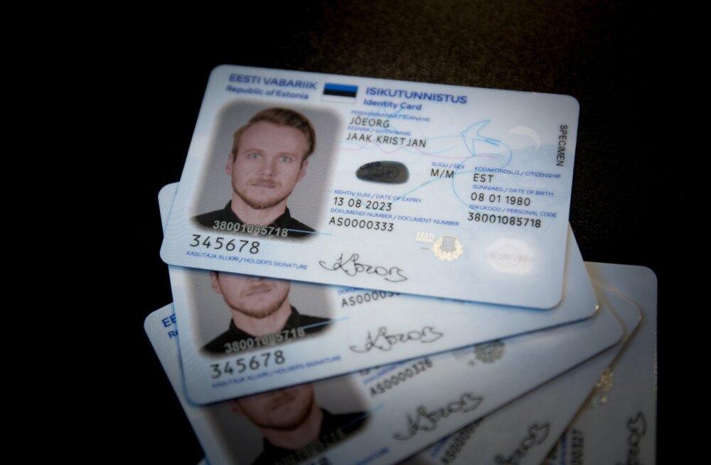 PPA esitles uue kujunduse ja turvaelementidega ID-kaarti
